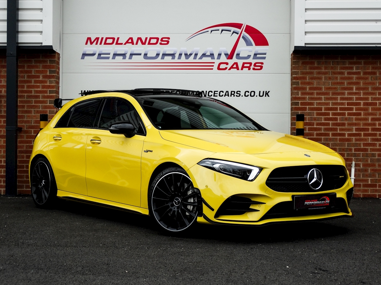 Used 2019 Mercedes Benz A35 Premium Plus Amg For Sale U144 Midlands Performance Cars