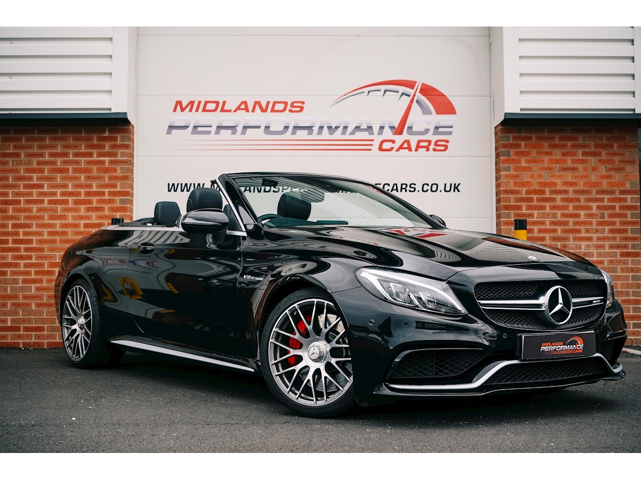 Mercedes-Benz C Class C63 S AMG Cabriolet Cabriolet 4.0 SpdS MCT Petrol