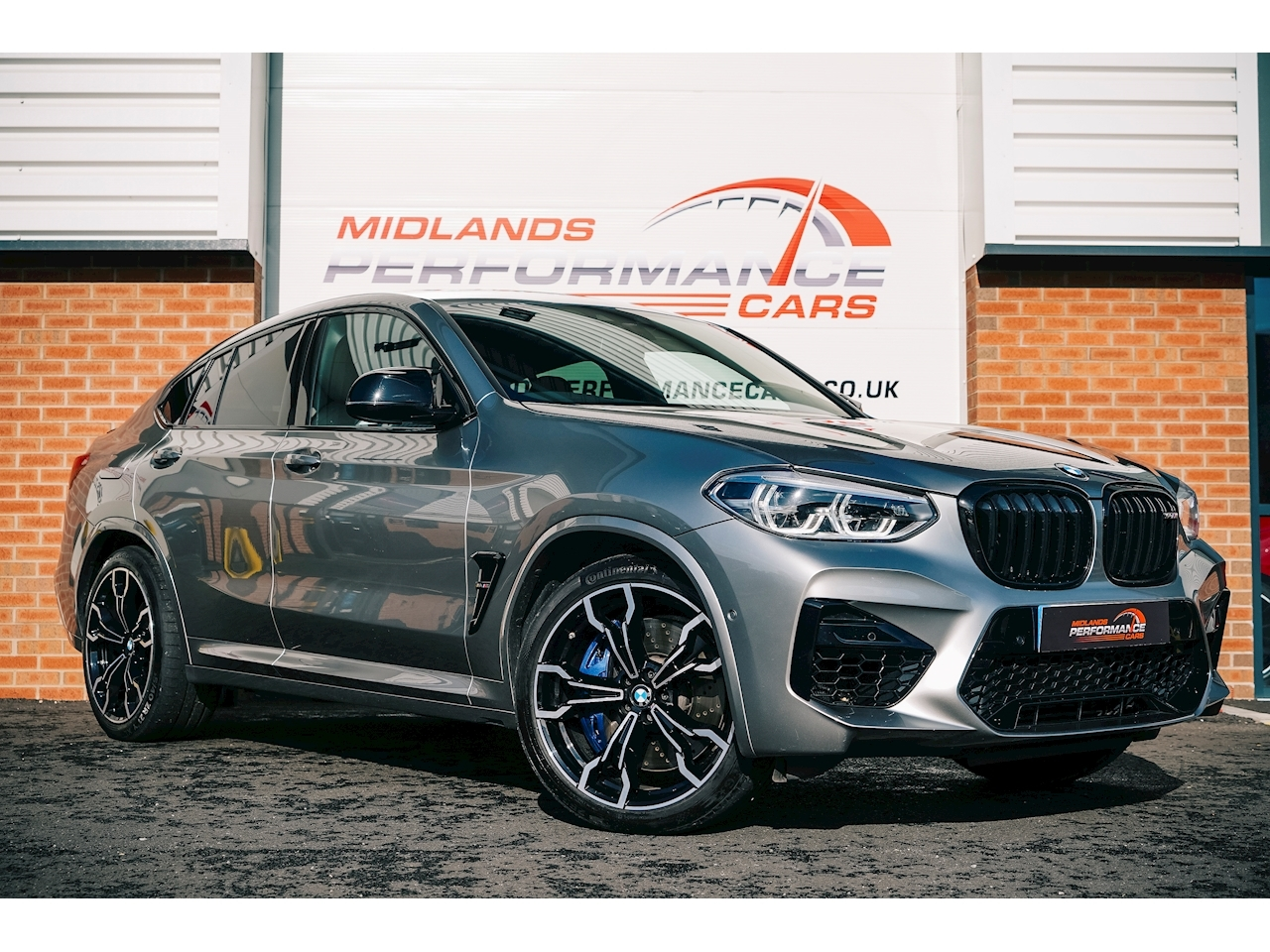 BMW X4M X4 M Competition Sports Coupe 3.0 Automatic Petrol