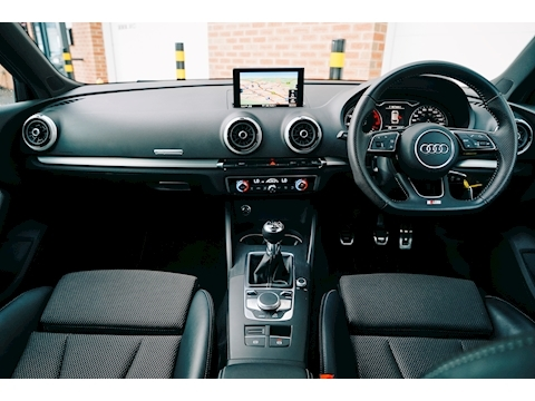 A3 Black Edition Sportback 1.5 Manual Petrol