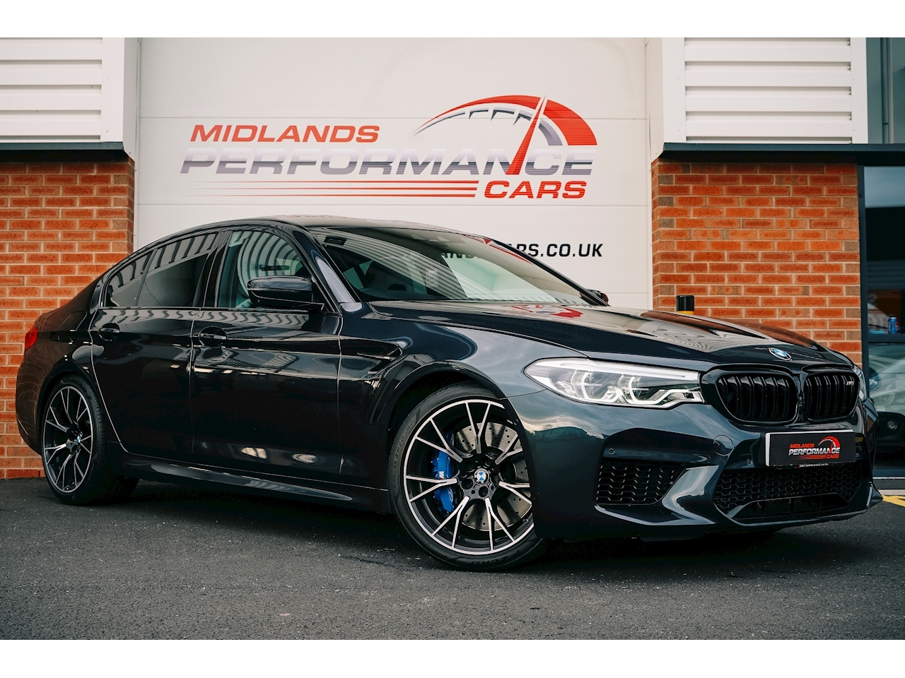 BMW M5 Series BMW M5 Competition Saloon Saloon 4.4 Automatic Petrol