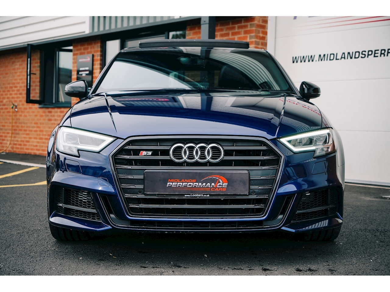 S3 Black Edition Saloon 2.0 S Tronic Petrol