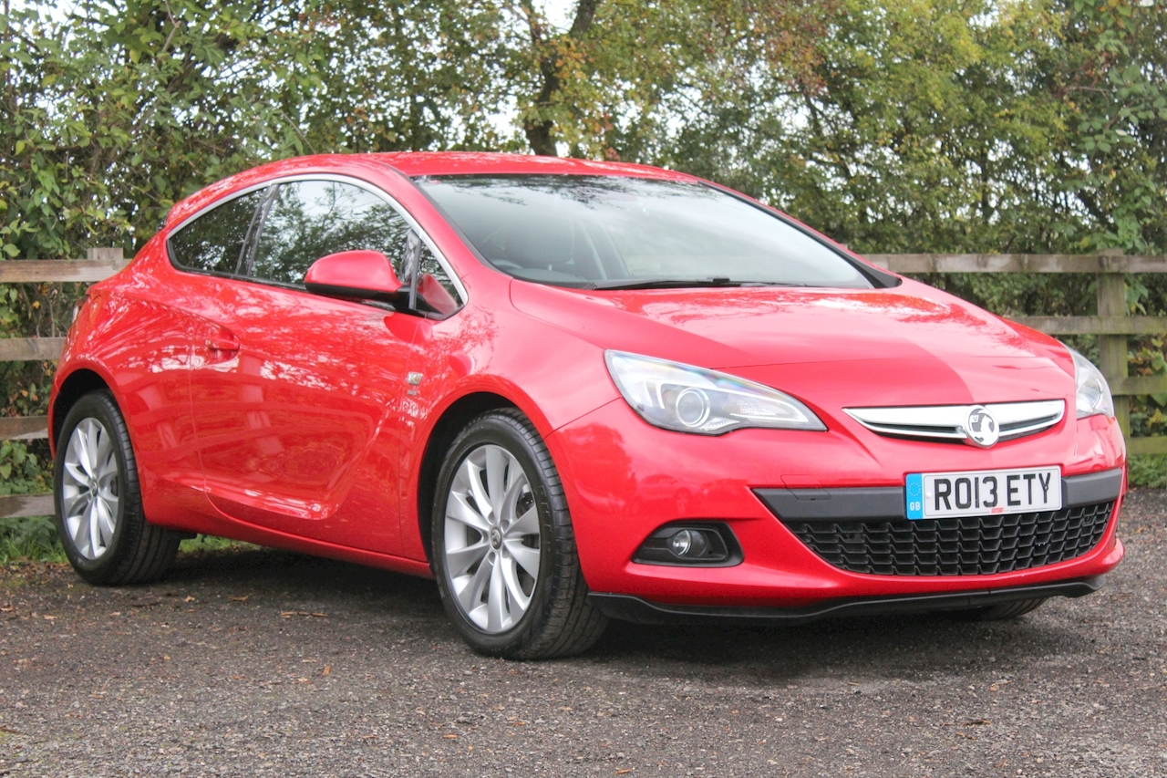 Vauxhall Astra GTC SRi Coupe 1.4 Manual Petrol
