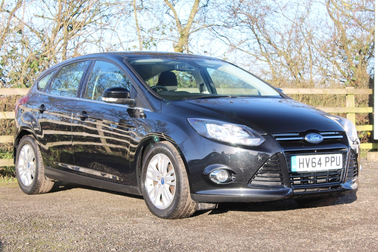 Ford Focus Titanium Navigator Tdci 1.6 5dr Hatchback Manual Diesel