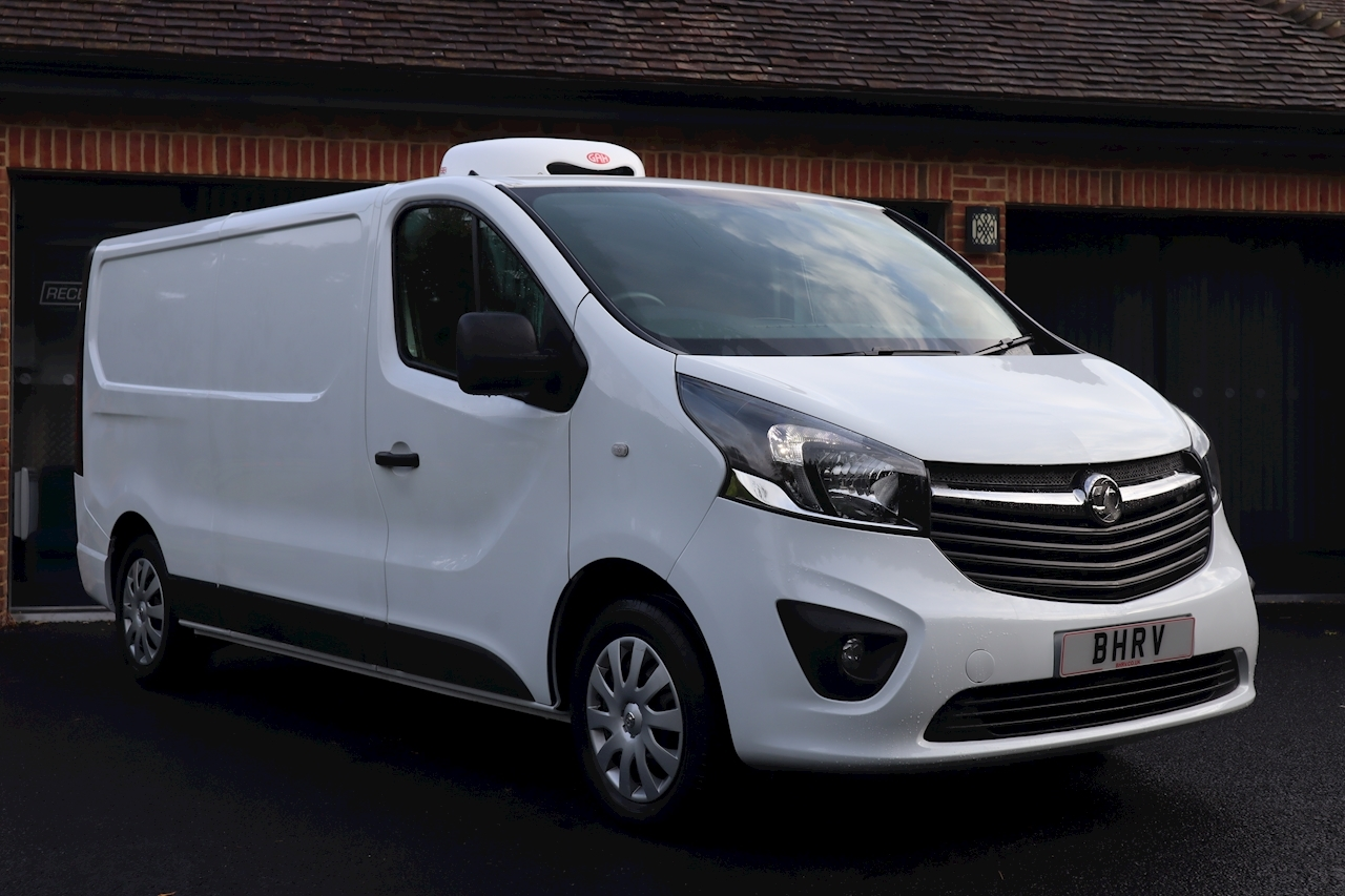 Vauxhall Vivaro Sportive L2 Refrigerated Freezer Chiller Van 1.6 5dr Medium Fridge Van Manual Diesel