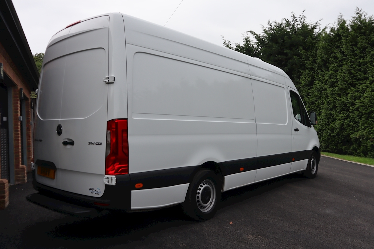 Mercedes Sprinter Lwb 314 Refrigerated Freezer Chiller Van