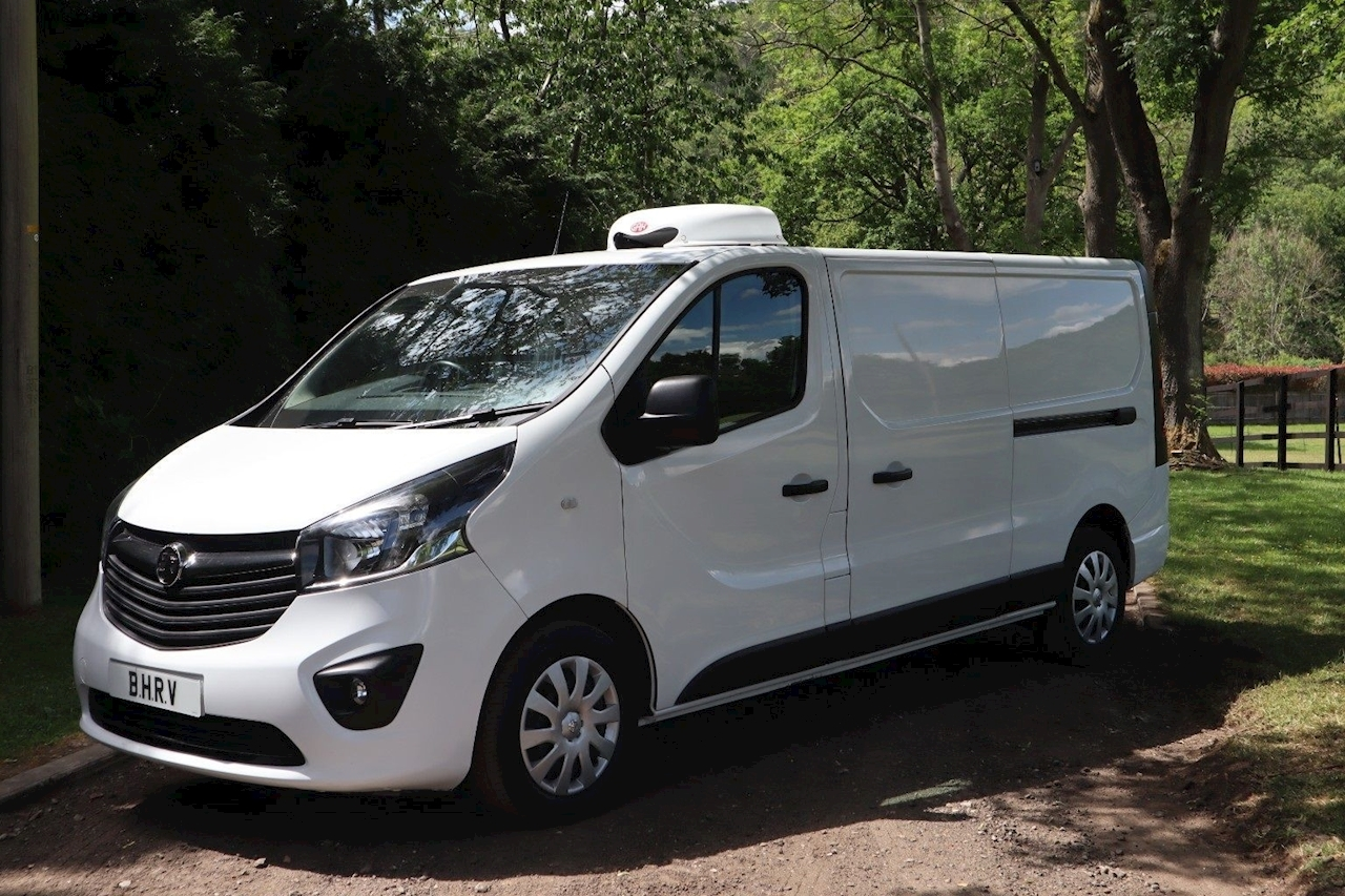 Vauxhall Vivaro Sportive L2 Refrigerated Chiller Fridge Van 1.6 5dr Medium Fridge Van Manual Diesel
