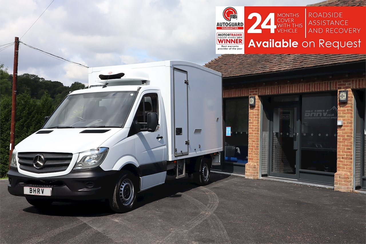 Mercedes Sprinter Mwb  314 Refrigerated Chiller Fridge Box Van 2.1 2dr Large Fridge Van Manual Diesel