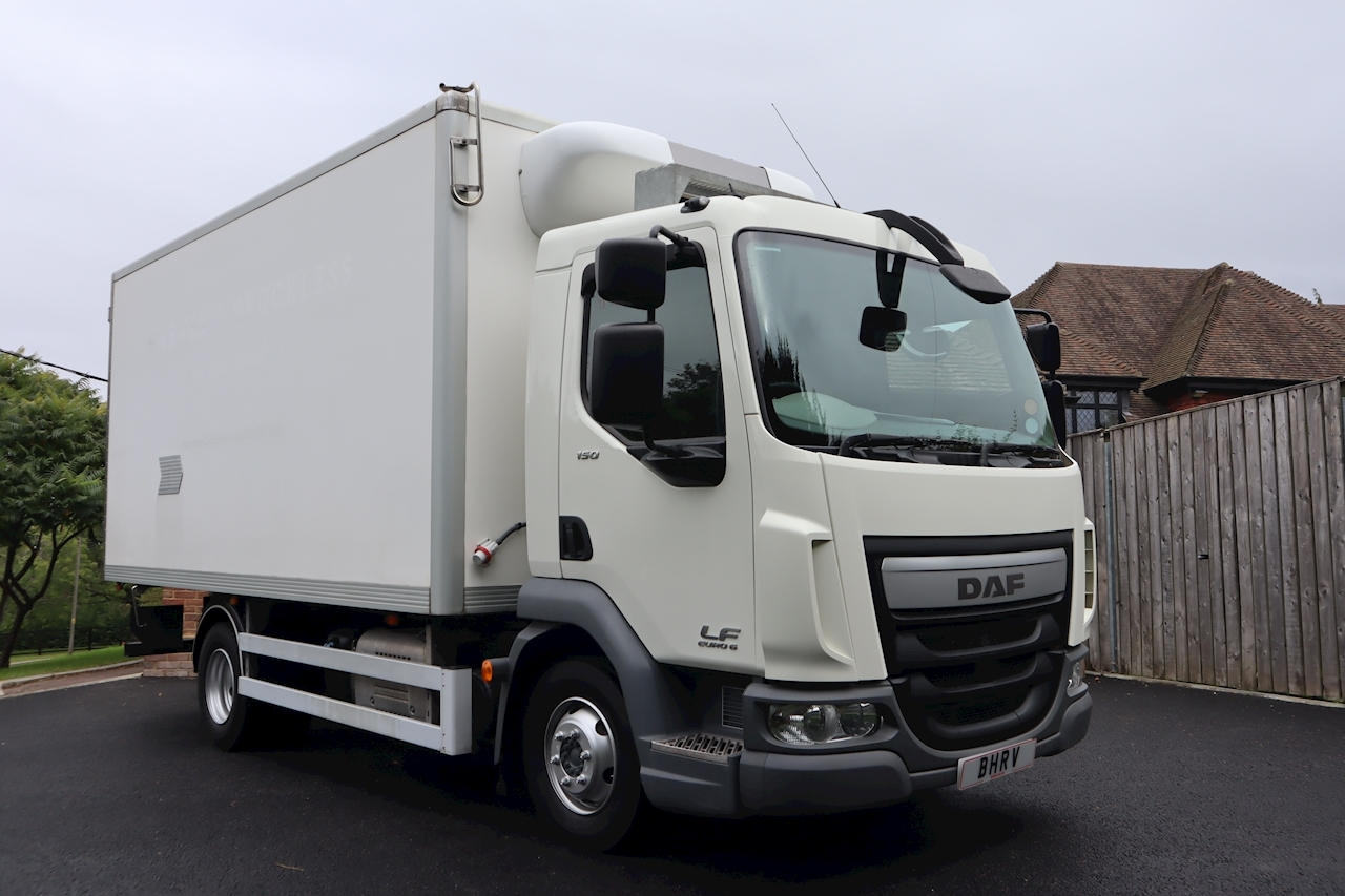 Daf LF 150 FA 08T Refrigerated Freezer Chiller Box 4.5 Large Fridge Van Manual Diesel