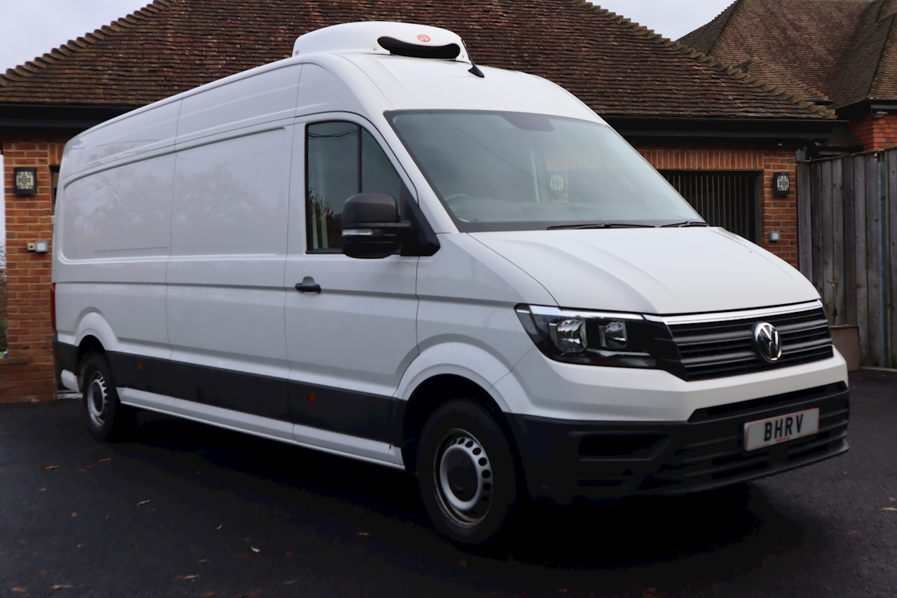 Volkswagen Crafter Lwb Refrigerated Chiller Fridge Van