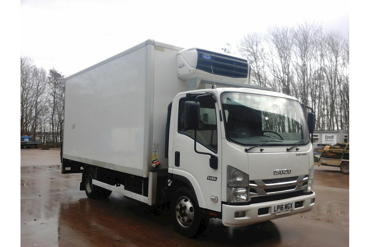 Isuzu Forward N75 Refrigerated Chiller Box with Tail Lift