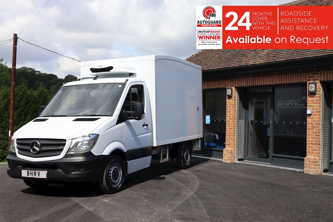 Sprinter Mwb 314 Refrigerated Freezer Chiller Box 2.1 2dr Large Fridge Van Manual Diesel