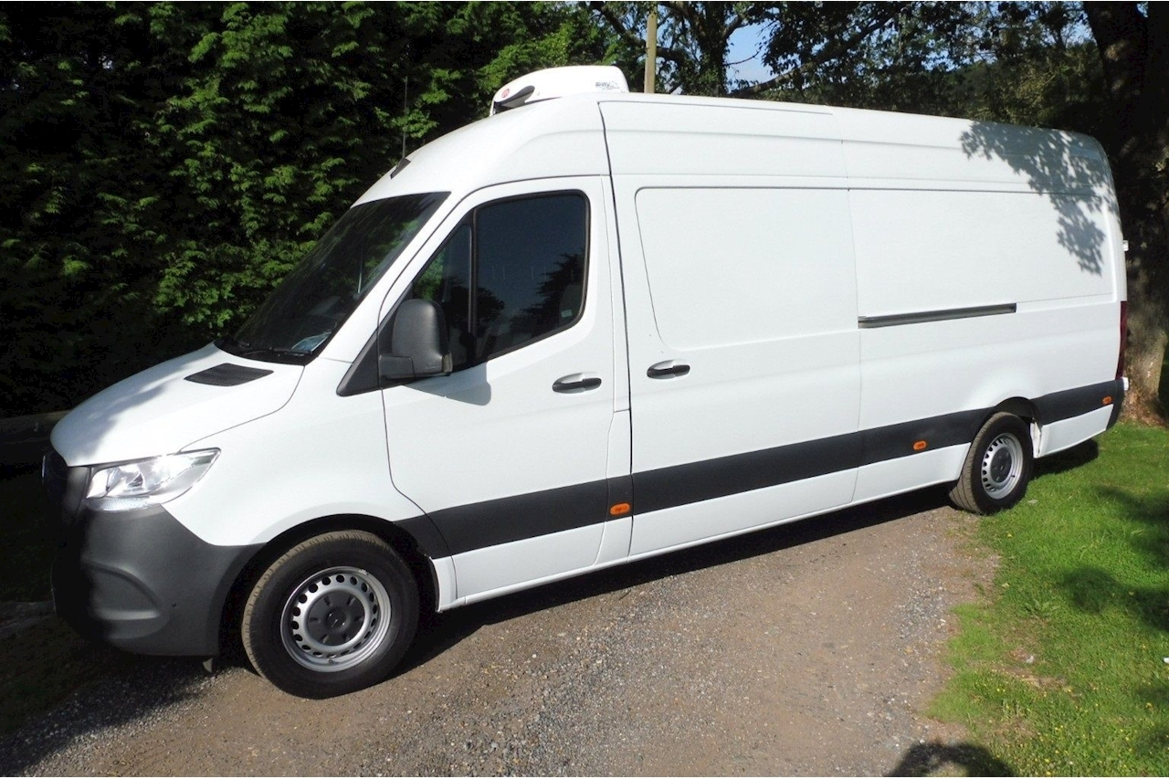 Mercedes Sprinter LWB 314 Refrigerated Freezer Chiller Van 2.1 Large Fridge Van Manual Diesel
