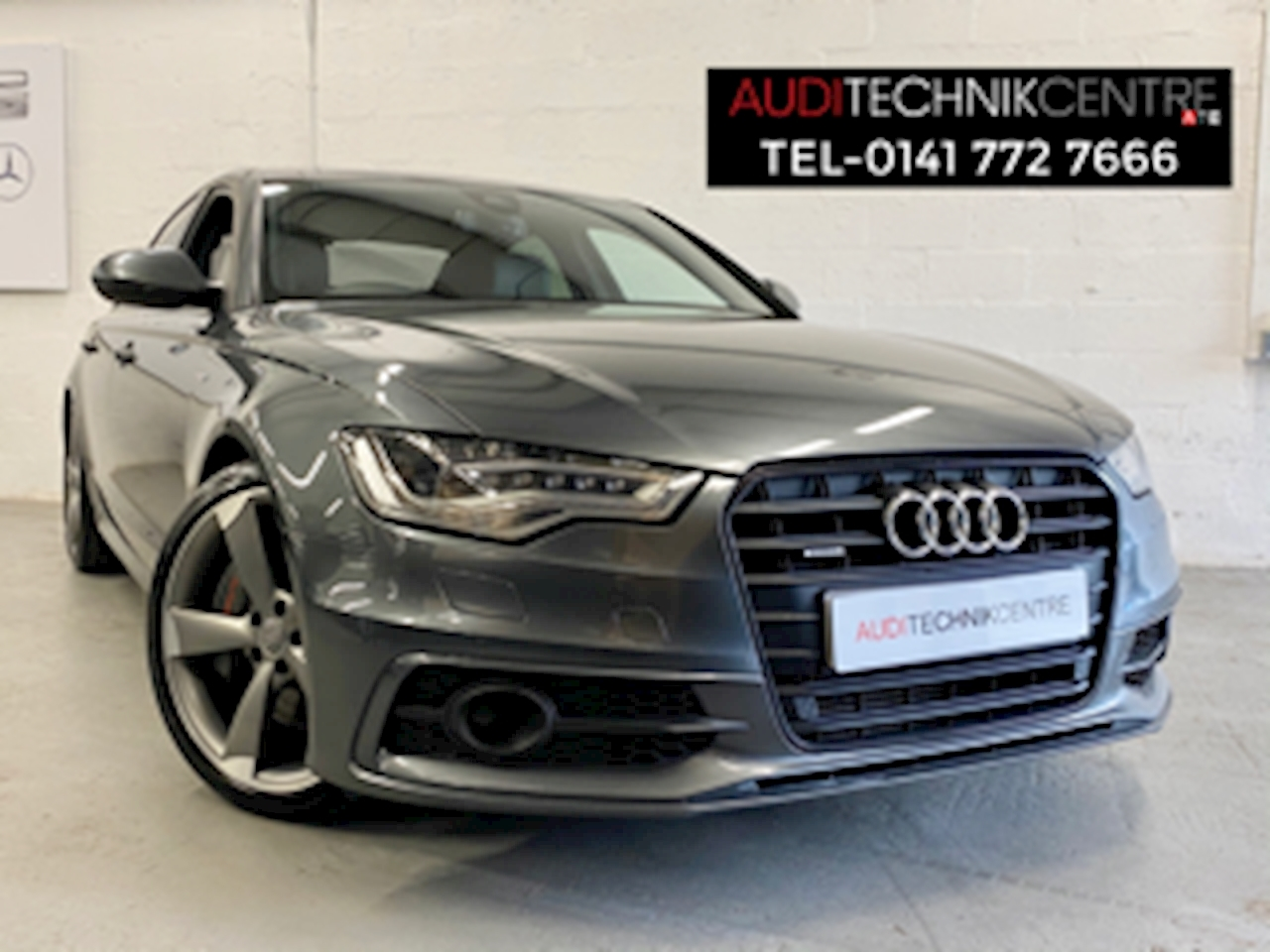 Audi A6 Saloon Black Edition 3.0 4dr Saloon Tiptronic Diesel