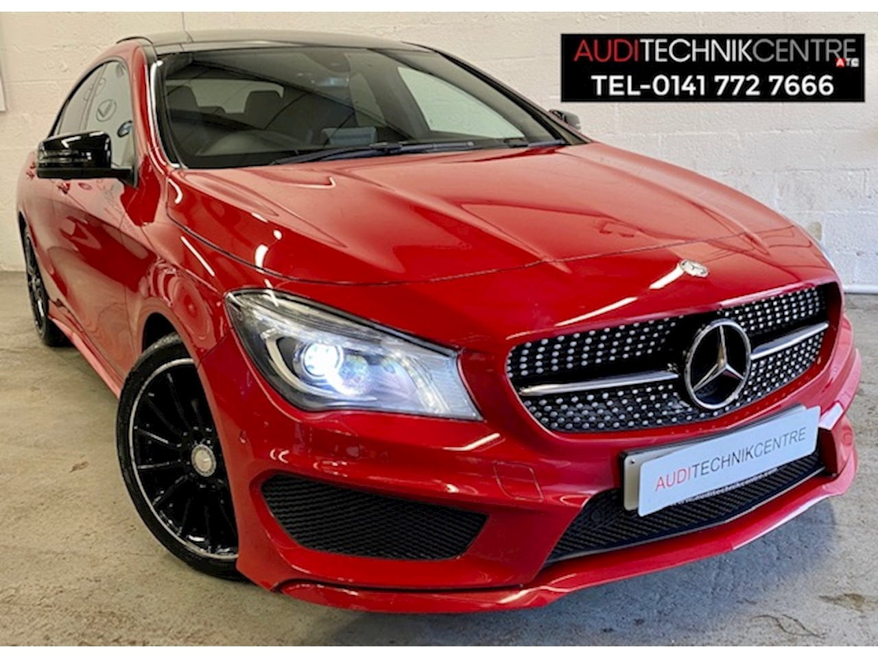 Mercedes-Benz CLA Class CLA220 CDI AMG Sport Coupe 2.1 Automatic Diesel