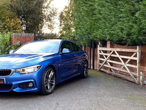 4 Series 420I M Sport Coupe 2.0 Automatic Petrol