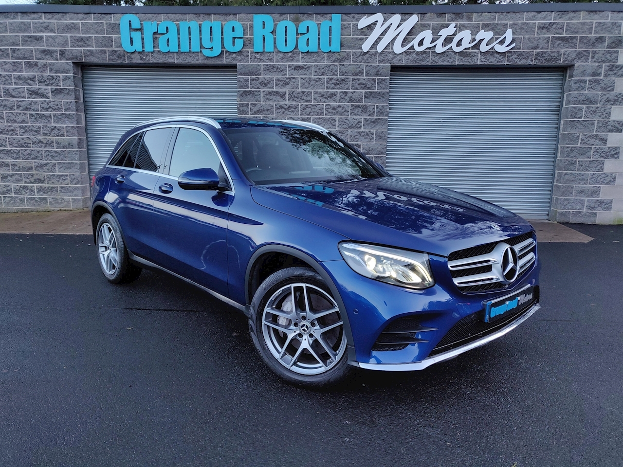 2.1 GLC220d AMG Line SUV 5dr Diesel G-Tronic 4MATIC (s/s) (170 ps)
