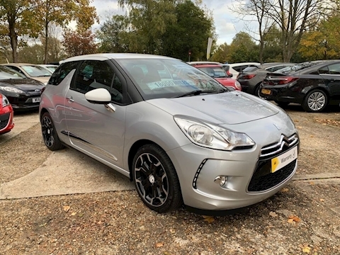 Ds 3 Thp Dstyle S/S Hatchback 1.6 Manual Petrol