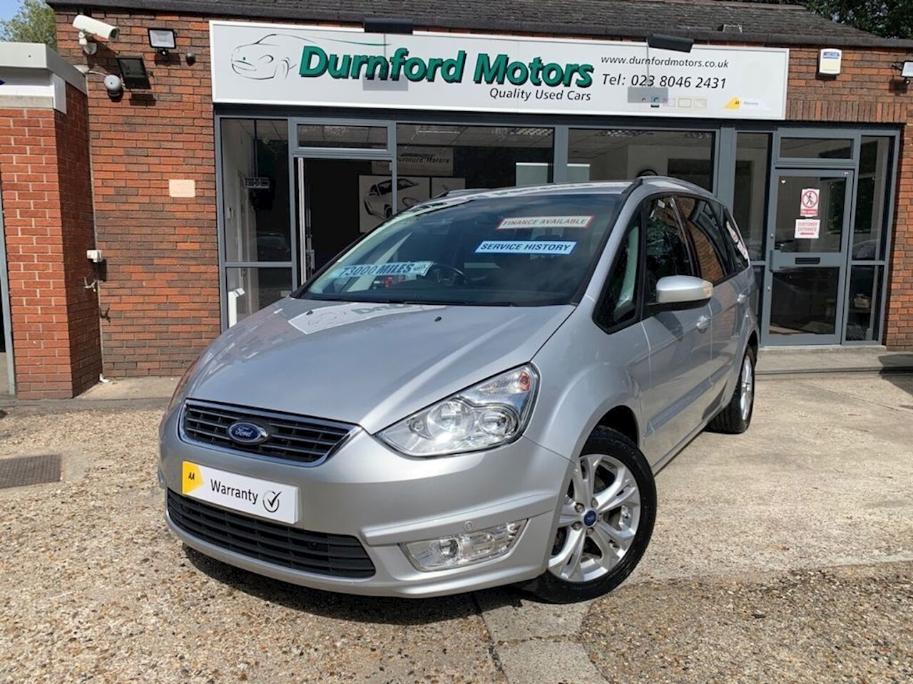 Ford Galaxy Zetec Tdci Mpv 2.0 Manual Diesel