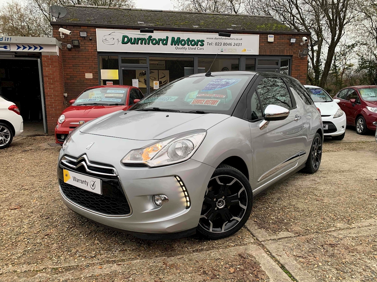Citroen DS3 Cabrio DSport Plus Convertible 1.6 Manual Petrol