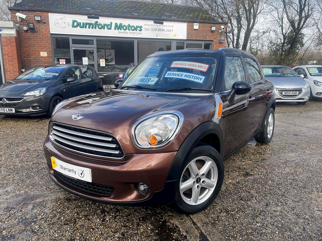 Countryman Cooper SUV 1.6 Manual Petrol