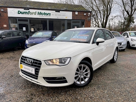 A3 TDI SE Hatchback 1.6 Manual Diesel