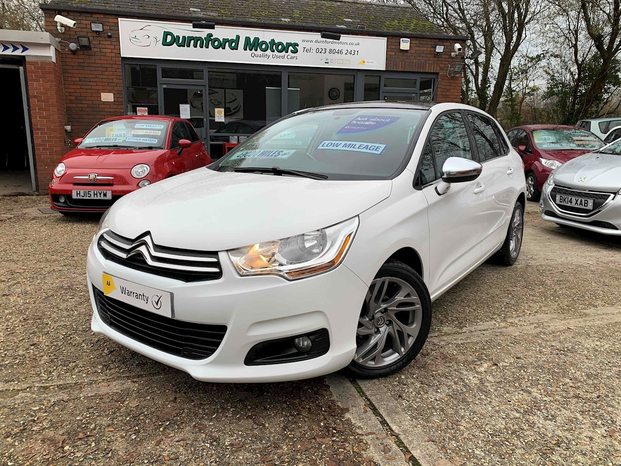 Citroen C4 Selection Hatchback 1.6 Manual Diesel