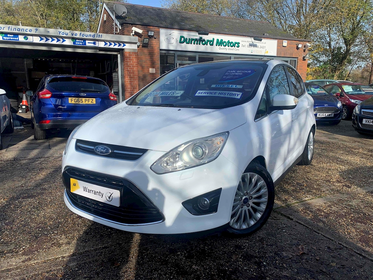 Ford C-Max Titanium MPV 1.6 Manual Diesel