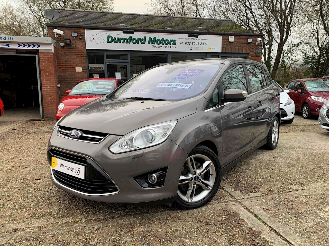 Ford Grand C-Max Titanium X MPV 1.6 Manual Diesel