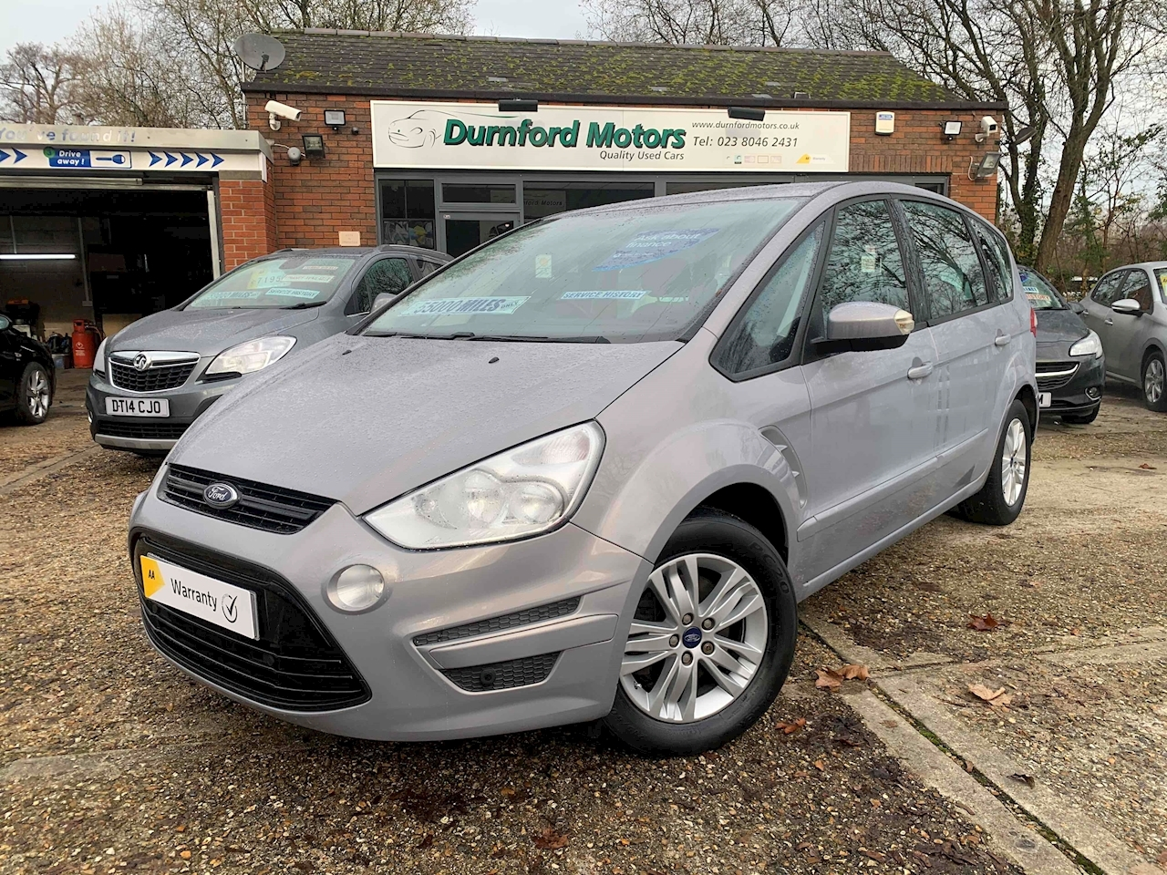 Ford S-Max Zetec MPV 2.0 Manual Diesel