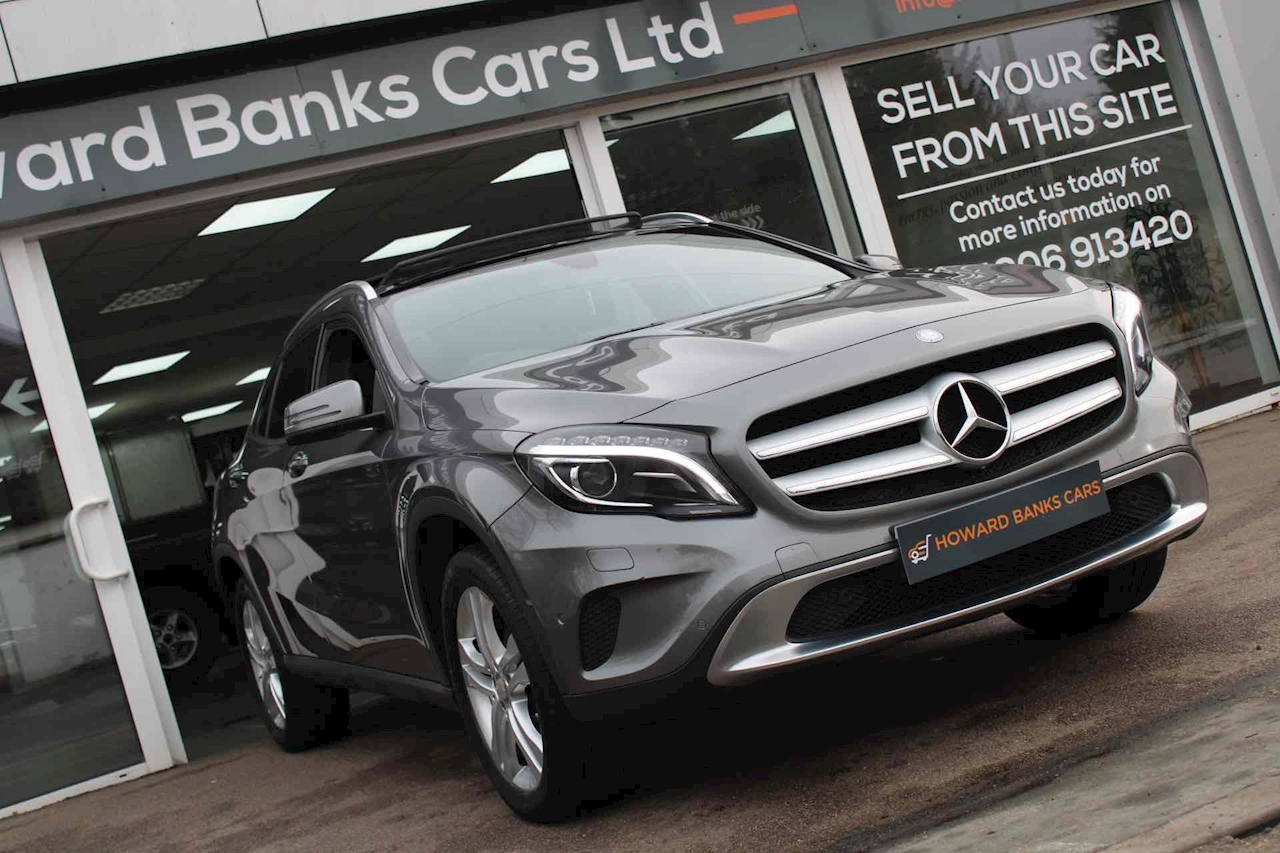 Mercedes-Benz GLA Class Sport SUV 2.1 Manual Diesel