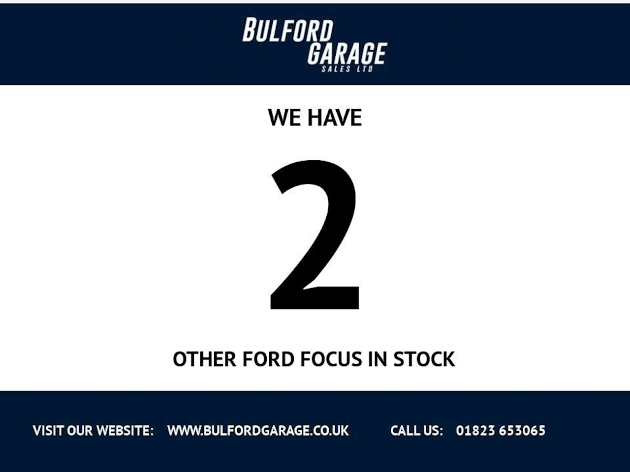 Ford Focus Zetec Hatchback 1.6 Manual Diesel