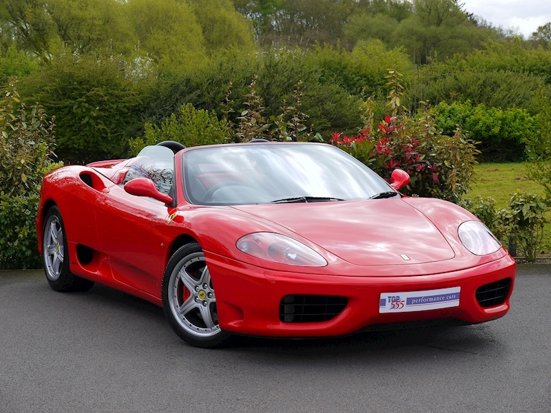 Ferrari 360 Spider - Manual - Large 20