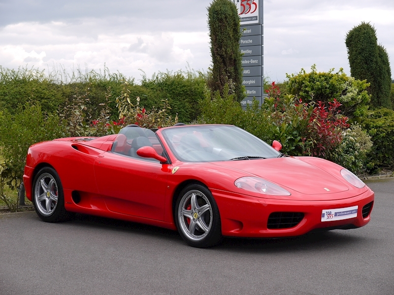 Ferrari 360 Spider - Manual - Large 16