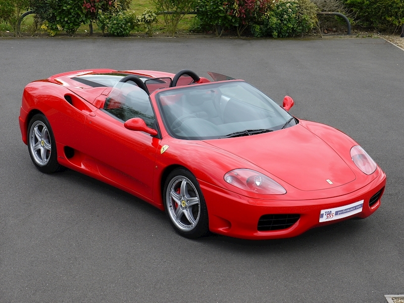 Ferrari 360 Spider - Manual - Large 0