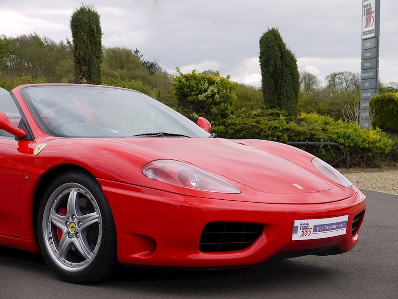 Ferrari 360 Spider - Manual - Large 27