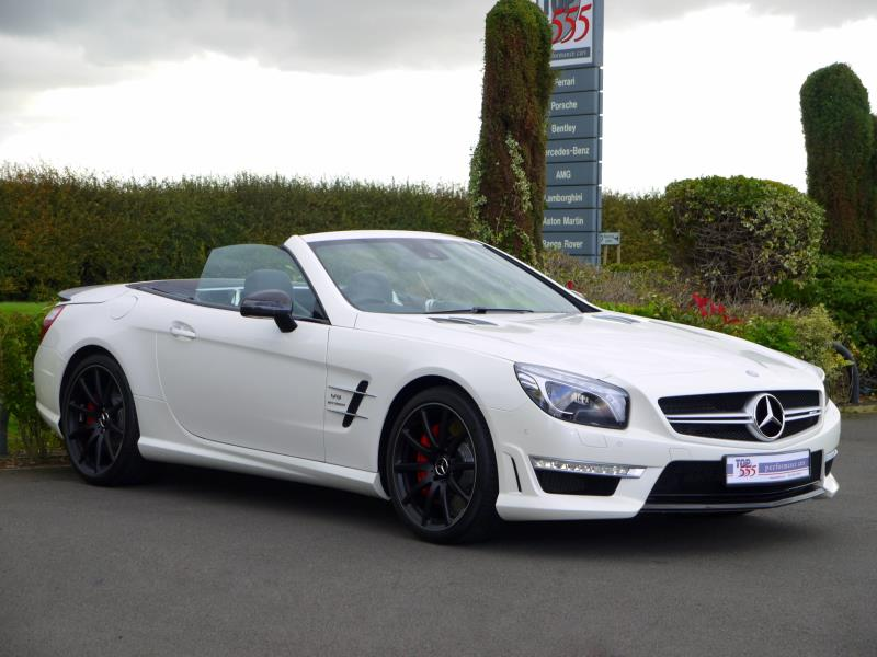 Mercedes SL63 AMG 5.5 V8 Bi-Turbo - Large 11