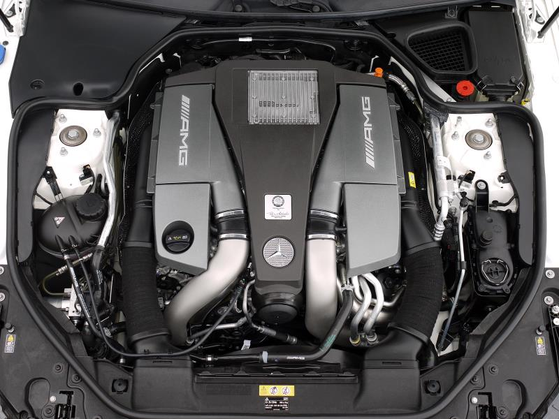 Mercedes SL63 AMG 5.5 V8 Bi-Turbo - Large 14