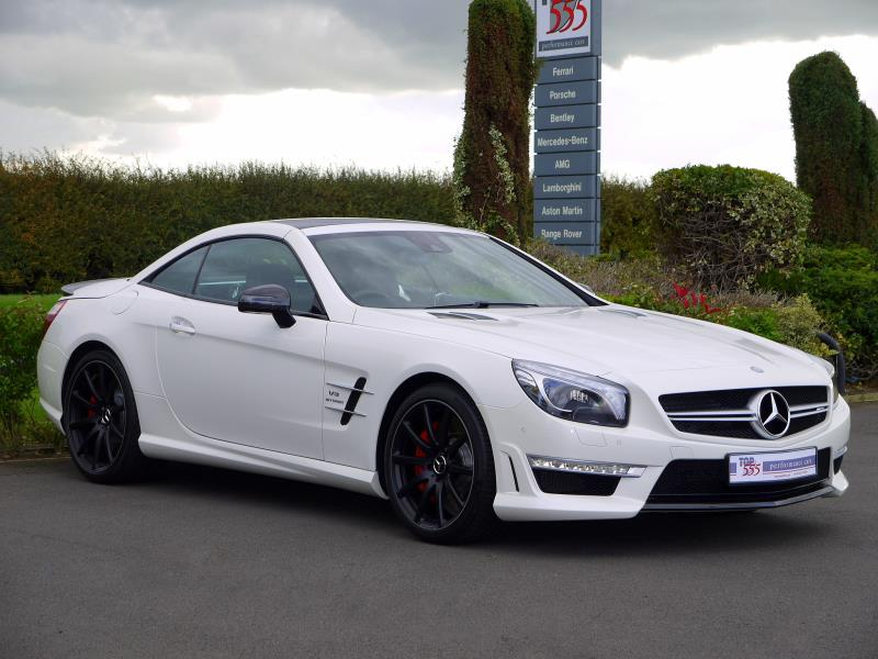 Mercedes SL63 AMG 5.5 V8 Bi-Turbo - Large 16