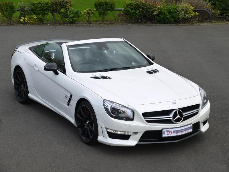 Mercedes SL63 AMG 5.5 V8 Bi-Turbo - Large 22