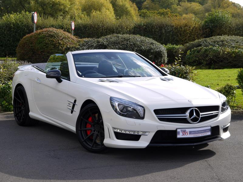 Mercedes SL63 AMG 5.5 V8 Bi-Turbo - Large 25