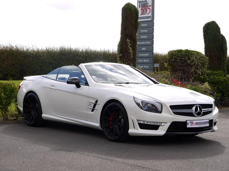 Mercedes SL63 AMG 5.5 V8 Bi-Turbo - Large 30