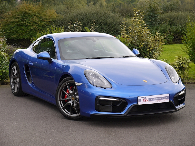 Porsche Cayman GTS 3.4 Manual - Large 0