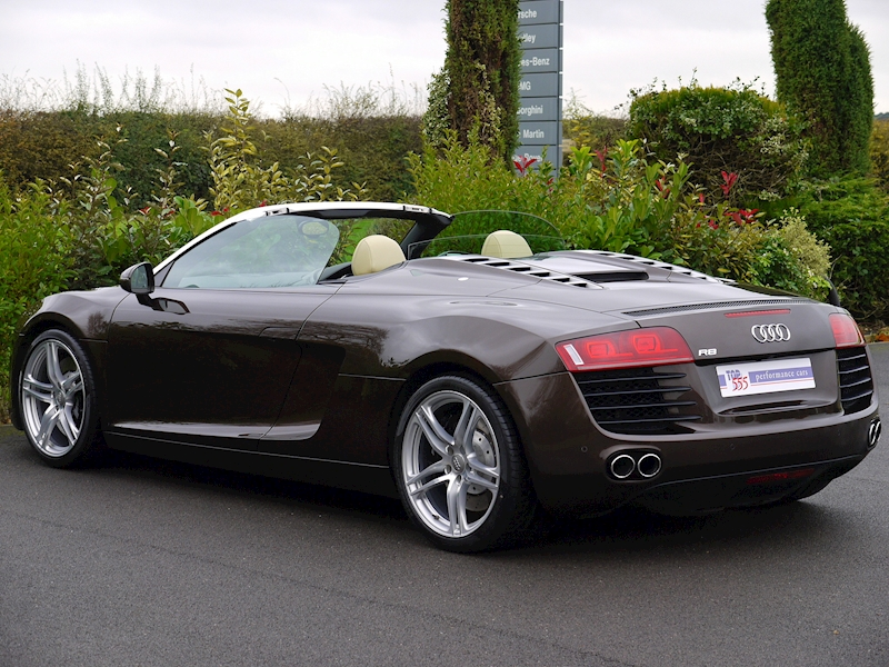 Audi R8 Spyder 4.2 V8 Manual - Large 11