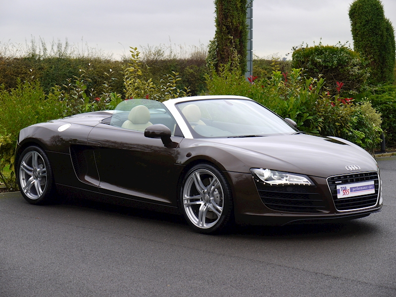Audi R8 Spyder 4.2 V8 Manual - Large 15