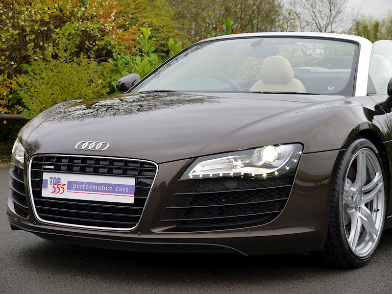 Audi R8 Spyder 4.2 V8 Manual - Large 17