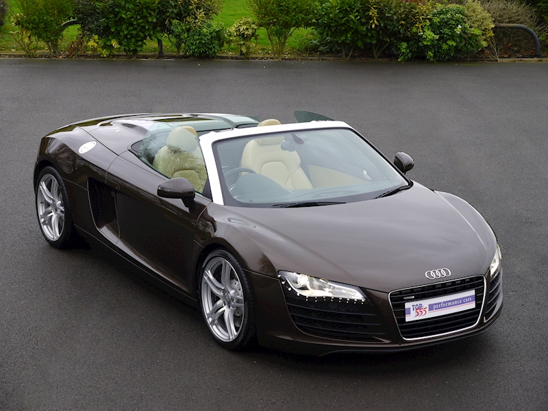 Audi R8 Spyder 4.2 V8 Manual - Large 0