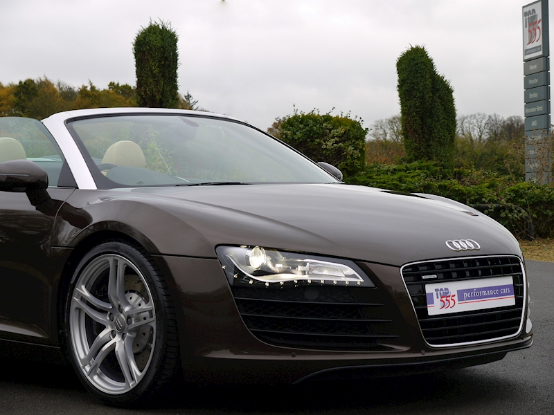 Audi R8 Spyder 4.2 V8 Manual - Large 26