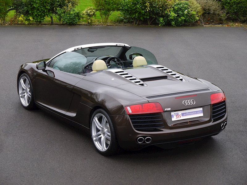 Audi R8 Spyder 4.2 V8 Manual - Large 27