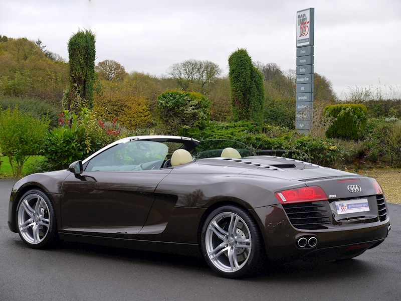 Audi R8 Spyder 4.2 V8 Manual - Large 28